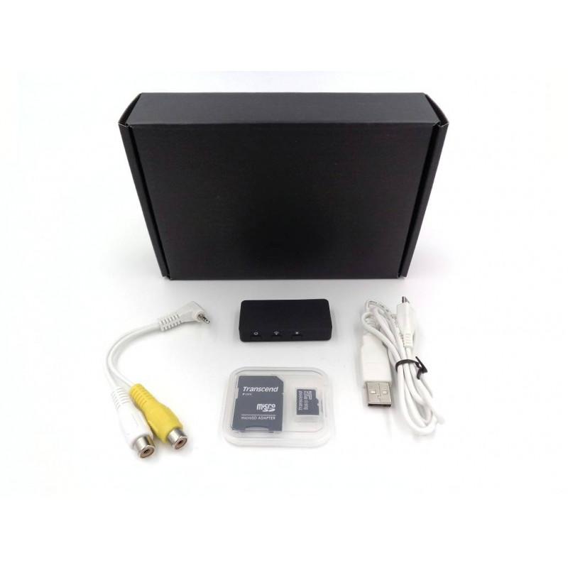 Mini enregistreur audio et video wifi p2p acces a distance iphone et android - Camera surveillance wifi enregistreur ...