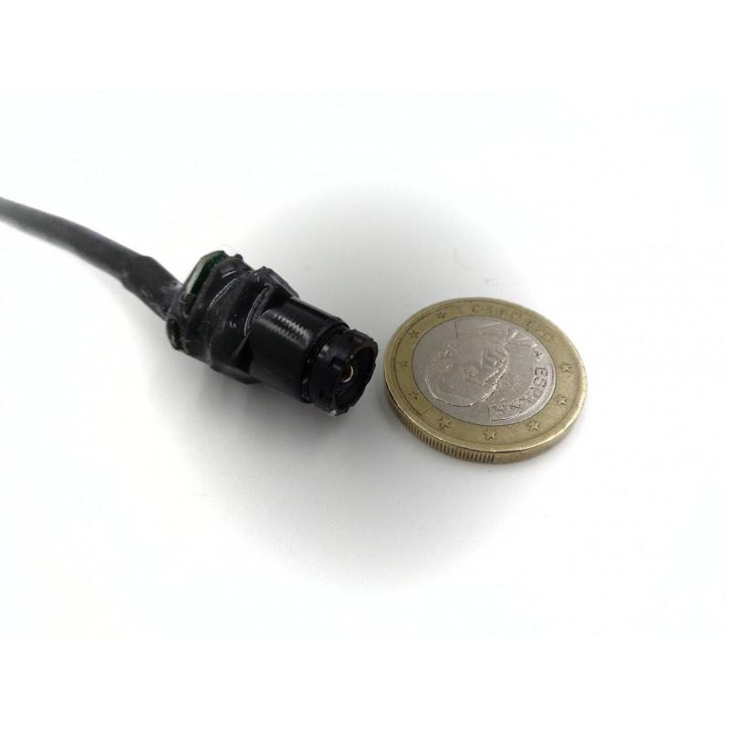 kit investigation moniteur 7 pouces et camera espion miniature autonome. Black Bedroom Furniture Sets. Home Design Ideas