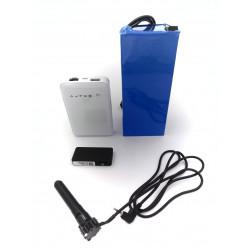 Pack camera espion 3G longue autonomie objectif 70mm 64GO
