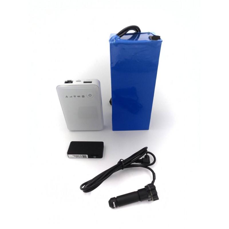 pack camera espion 3g longue autonomie objectif 45mm 64go. Black Bedroom Furniture Sets. Home Design Ideas