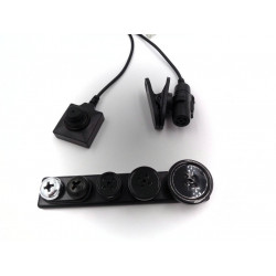 Camera espion bouton LAWMATE BU18 avec micro deporté