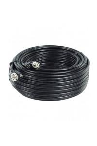 Cable video BNC + alimentation DC 20 metres KX6