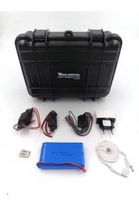 Pack micro espion GSM module PRO K+ avec batterie 11AH + accessoires integration