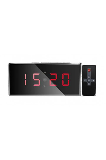 Camera espion horloge de bureau Full HD 1080P grand angle 140° vision nocturne 32GO
