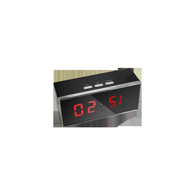camera espion horloge de bureau full hd 1080p grand angle 140 vision nocturne. Black Bedroom Furniture Sets. Home Design Ideas