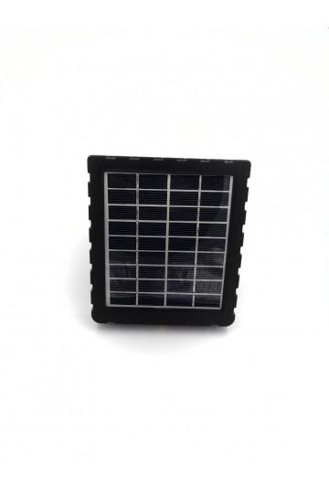 Batterie à rechargement solaire 3000mah permettant de rendre autonome camera de