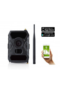 Camera chasse autonome avec envoi MMS FULL HD grand angle 100° SHOT1 WIDE BLACK