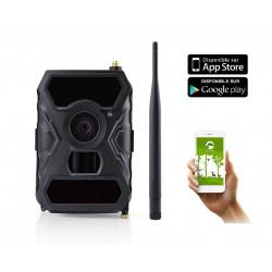 Camera chasse autonome avec envoi MMS FULL HD grand angle 100° SHOT1 WIDE BLACK