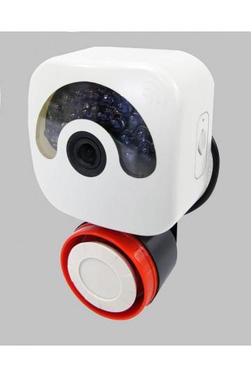 Camera IP wifi HD 720p  avec sirene d' alarme puissante 32GO