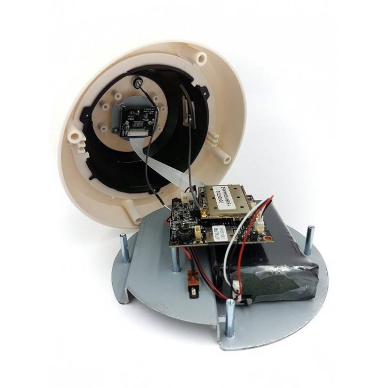 camera espion ip wifi hd longue autonomie cach e dans detecteur incendie. Black Bedroom Furniture Sets. Home Design Ideas