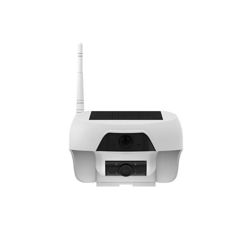 camera ip wifi p2p hd solaire longue autonomie detecteur mouvement pir et vision nocturne 16go. Black Bedroom Furniture Sets. Home Design Ideas