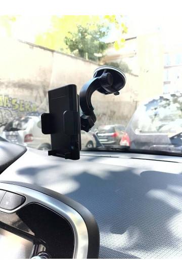 Caméra cachée dans un support téléphone pour parebrise 1080P Full HD vision nocturne