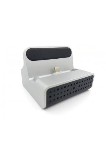 Caméra cachée dans station de charge pour iPhone wifi ip p2p 3MP 1080P Full HD LAWMATE PV-CHG20i