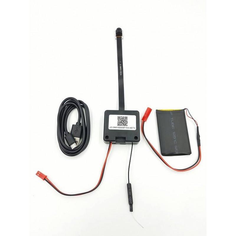 camera espion module wifi ip p2p 2mp full hd 32go. Black Bedroom Furniture Sets. Home Design Ideas