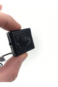 Camera miniature analogique HD 1.3MP PINHOLE basse luminosité