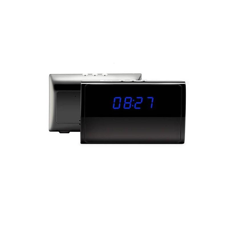 camera espion wifi reveil full hd 5mp 1080p ip p2p 32go. Black Bedroom Furniture Sets. Home Design Ideas