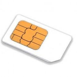 Carte SIM prepayée 3 mois europe multi opérateurs