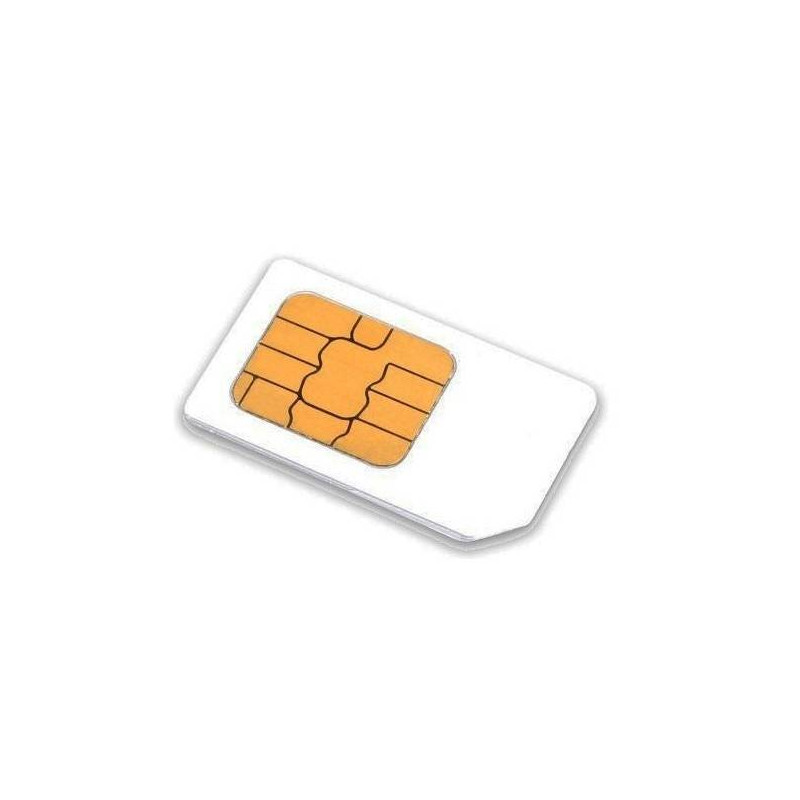 Carte Sim.Carte Sim Prepayee 3 Mois Europe Multi Operateurs