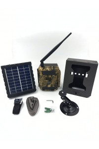 Pack camera chasse SHOT3 avec boitier antivandalisme et batterie solaire