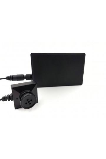 Kit camera espion bouton professionnel economique wifi 3MP full hd LAWMATE PV-500 NEO BUNDLE