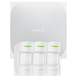 Kit alarme AJAX AJ-HUBKIT-PRO-W GSM IP