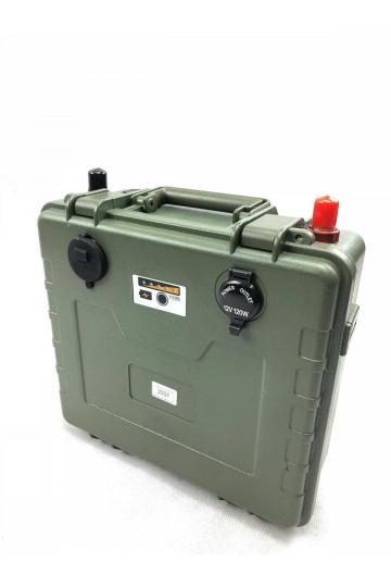 Valise énergie batterie lithium 12v 200ah rechargeable