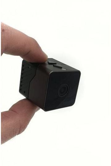 Mini camera full hd 1080P avec vision nocturne et detection de mouvement PIR longue autonomie  16GO