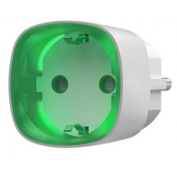 Prise intelligente sans fil avec contrôle d'énergie AJAX SOCKET blanc