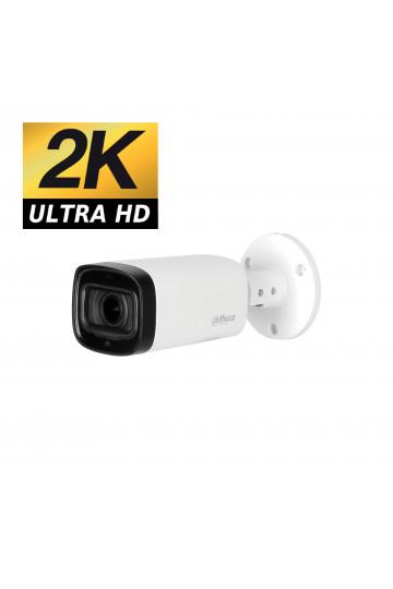 Camera tube HDCVI DAHUA 4MP ultra HD varifocale motorisé zoom X4 IR 60m
