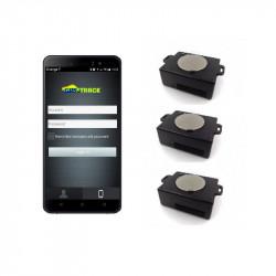 Pack 3 traceurs GPS BALTRACK ECO écran de contrôle 5 pouces