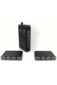 Kit brouilleur micro et enregistreur audio avec 2 unités de brouillage supplémentaires