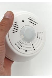 Caméra espion wifi ip p2p longue autonomie cachée dans un détecteur de fumée factice