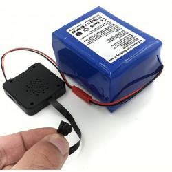 Kit module caméra miniature MOD-01 et batterie lithium très longue autonomie 100 heures