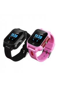 Traceur GPS 4G temps réel dans une montre pour enfants et personnes agées