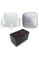 Kit alarme 3G AJAX autonome 7 mois pour logements vacants, chantiers et lieux isolés