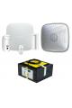 Kit alarme 3G AJAX autonome 14 mois pour logements vacants, chantiers et lieux isolés