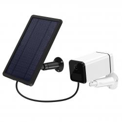 Caméra de vidéosurveillance sans fils longue autonomie 4G  avec panneau solaire