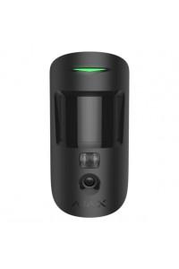 Détecteur volumétrique avec caméra photo MOTIONCAM AJAX Noir