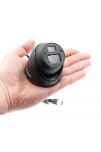 Caméra vidéosurveillance dome miniature HDCVI 2MP vision nocturne HDW1220G