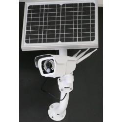 Caméra extérieure autonome 4G à rechargement solaire vision nocturne