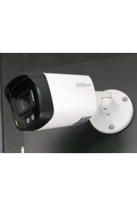 Caméra tube HDCVI ultra HD 2K 4MP Dahua FULL COLOR avec éclairage led