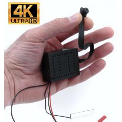Module caméra espion wifi 4K ULTRA HD longue autonomie détection PIR 128GO