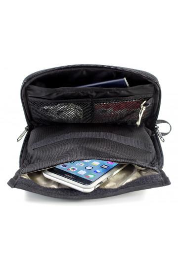 Petit sac faraday blocage de signaux anti vol de données pour smartphones