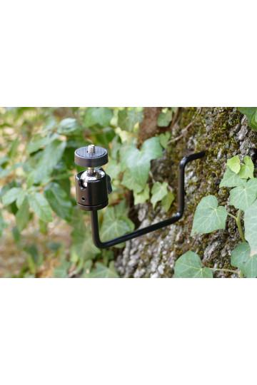 Support de fixation sur arbre et tronc pour piège photographique