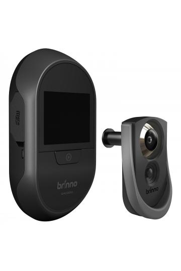Caméra judas de porte WIFI sans aucun fil avec détecteur PIR BRINNO SHC1000W14