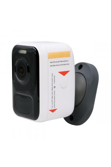 Caméra IP wifi longue autonomie FULL HD aimantée flash lumineux et sirène