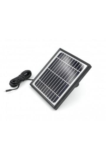 Panneau solaire pour caméra autonome wifi