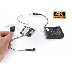 Module caméra espion 4K très longue autonomie avec timer programmable