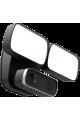 Caméra IP WiFi 2MP Full HD avec double spot lumineux et sirène puissante