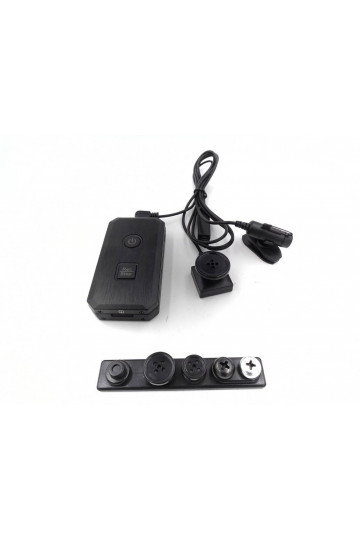 Kit camera espion bouton et vis LAWMATE PV-50U KIT